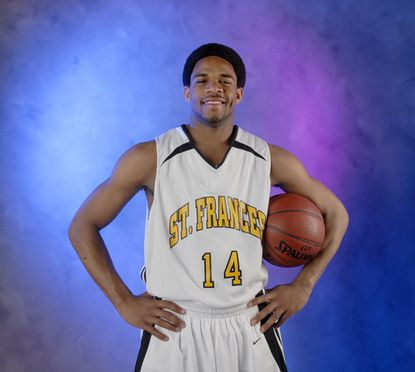 St. Frances' Sean Mosley is the All-Metro Player of the Year for boys basketball.