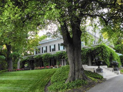 Burnside Farm features impeccably restored Victorian mansion