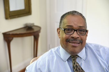 This is Jean Fugett, an attorney and former NFL player. He played for the Washington Redskins and the Dallas Cowboys.