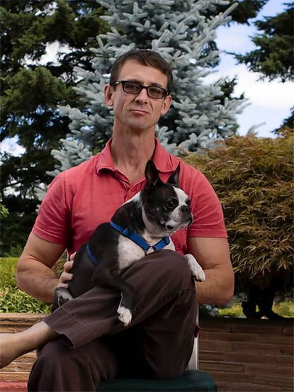 "Chuck Palahniuk, who will be reading from his newest book, ""Doomed"" Friday at the Pratt Library."
