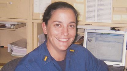 Christine M. Dimitroff, a Coast Guard lieutenant, died Aug. 12 from a brain tumor at the University of Maryland Medical Center.
