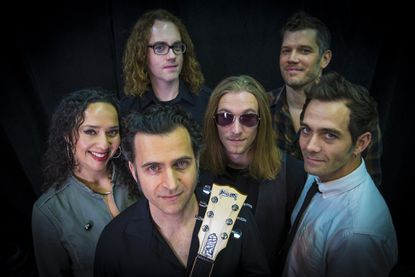 Dweezil Zappa (with guitar), son of Baltimore native Frank Zappa, started Zappa Plays Zappa to change the public's perception of his father.