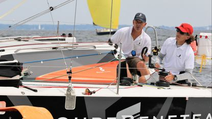 Double-handed team takes line honors in Annapolis-Newport Race
