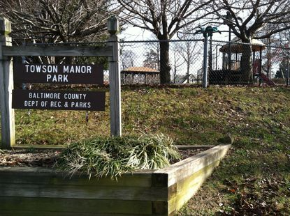 Towson officials said Tuesday that Towson Manor Park could be the site of a new fire station in Towson.