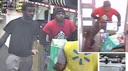 Baltimore County Police Department are asking for public assistance in identifying two suspects in a robbery of a Walmart in Arbutus.