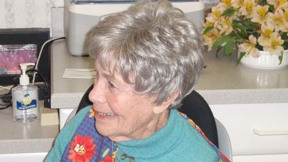 Carol L. Frank enjoyed gardening, and her garden was on the Maryland House and Garden Pilgrimage.