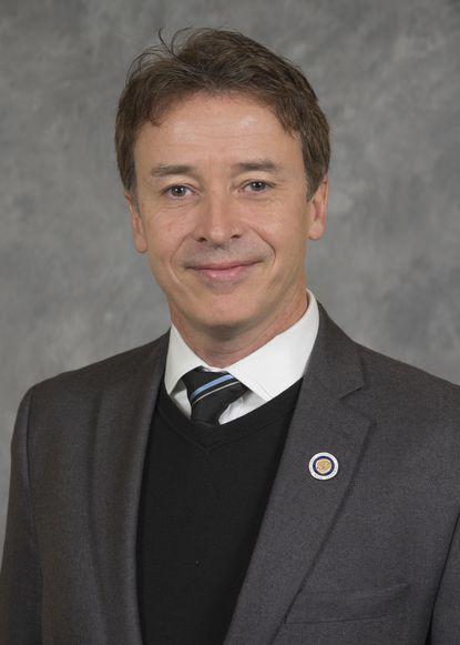 Mount St. Mary's University President Simon Newman