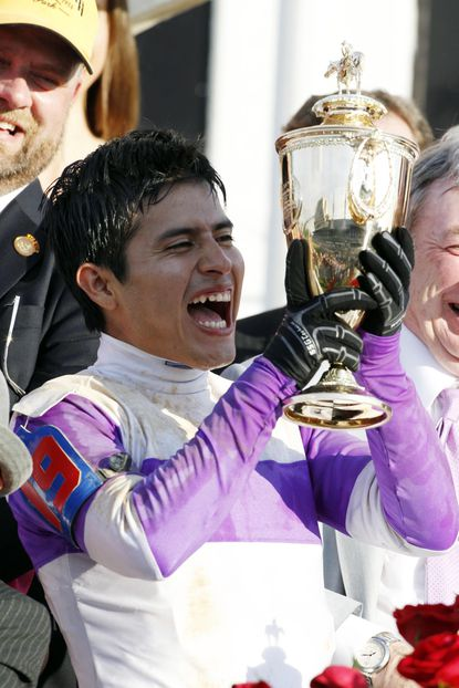 Mario Gutierrez, winning jockey of the Kentucky Derby aboard I'll Have Another, is one of horse racing's rising stars.