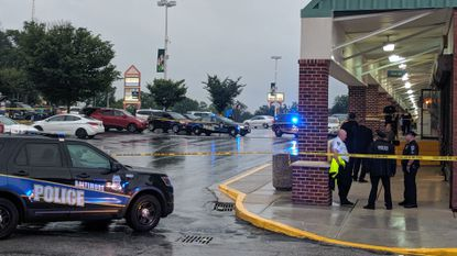 16-year-old boy dead, 2 women injured in triple shooting at Alameda shopping center in North Baltimore
