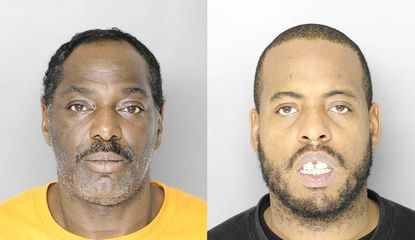William Ward, left, and Frank Williams were each sentenced on Friday to life without parole for their roles in the killing of Rodney Pridget outside Towson Town Center last December. Both were convicted of first-degree murder in the case.