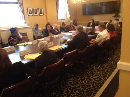 Criminal Justice Coordinating Committee meets, not for the last time, without lunch.