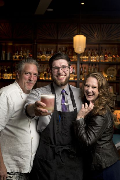 Cured | 18th & 21st's Brian Thornton, Alex Gehringer and Cat Combs were voted best chef, bartender and server, respectively.