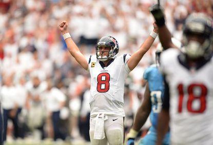 Bringing in Matt Schaub as backup quarterback is a good idea