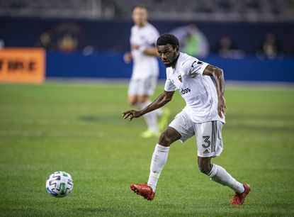 After overcoming Stage II Hodgkin's lymphoma, D.C. United defender Chris Odoi-Atsem scored his first career goal Oct. 18 against FC Cincinnati.