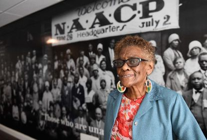 Sandra M. Almond-Cooper was a longtime activist who pushed for voter registration and neighborhood equity.