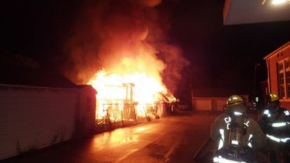 Fire marshal seeking charges after garage fire in Union Bridge