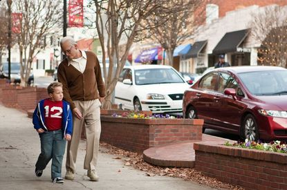 """""""Bad Grandpa"""" took first place at the box office."""