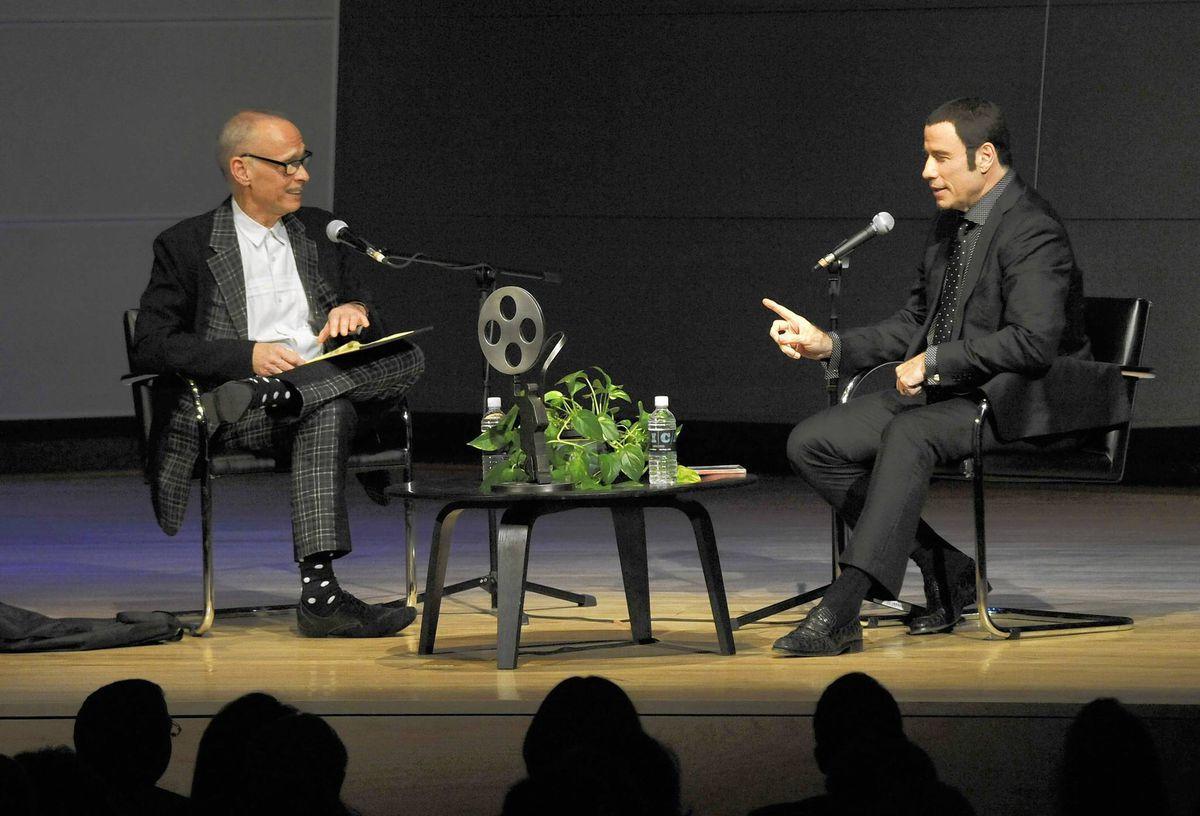John Travolta Shares Memories Of Hairspray Pulp Fiction And Other Films Baltimore Sun