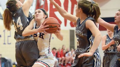 Girls Basketball: 'Reset' serves Eagles quite well in playoff win