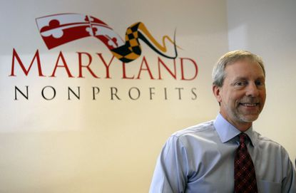 BALTIMORE, MD--2013/02/07--Greg Cantori, President & CEO of Maryland Nonprofits poses for the photo. Freelance Photo by Chiaki Kawajiri No Mags, No Sales, No Internet, No TV