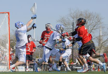 The annual men's lacrosse showdown between Maryland and Johns Hopkins will now be a conference game, with both teams joining the Big Ten this season.