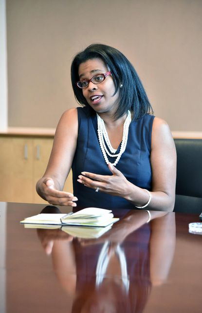 Sonja Santelises, Baltimore public schools CEO, will present proposed budget to the Board of Education on Tuesday.