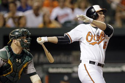 Orioles notebook: Steve Clevenger clears place for himself on roster with bat