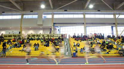 The indoor track 3A East Region Meet at Prince George's Sports & Learning Complex in Hyattsville, MD on February 2, 2016.