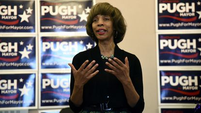 Democrat Catherine Pugh is shown in this 2016 file photo as a candidate for mayor of Baltimore.