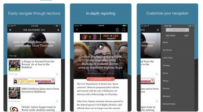 News Reader for iOS and Android