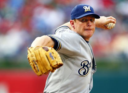 The Orioles are close to signing former Brewers lefty Randy Wolf.