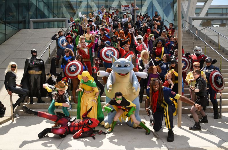 Superheroes, super-villains and fans unite at the Baltimore Comic-Con, which in its 18th year, keeps the tradition going with comic booth booths, appearances by actors and writers, contests, panels, workshops and more.