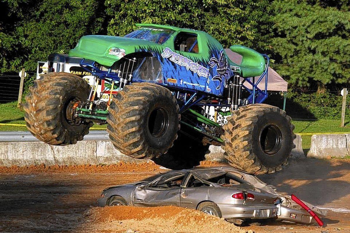 Monster Trucks Plow Into 4 H Fair Lineup Carroll County Times