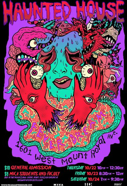 Thursday: MICA Haunted House: Fever Dream