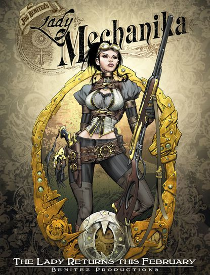"""Hunt Valley-based Diamond Comics said it has reached a deal to be the exclusive distributor for Benitez Productions, including its flagship """"Lady Mechanika"""" titles."""