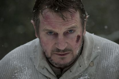 "Liam Neeson stars in the action thriller ""The Grey."" Not much of a movie, but lots of cold and snow."