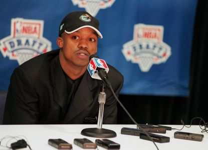 Maryland guard Steve Francis expressed disapointment during interviews at the MCI Center after being selected second in the first round of the NBA draft by the Vancouver Grizzlies.