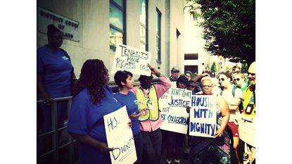 Wednesday: Families: Race and Gender Oppression in Baltimore's Rent Court