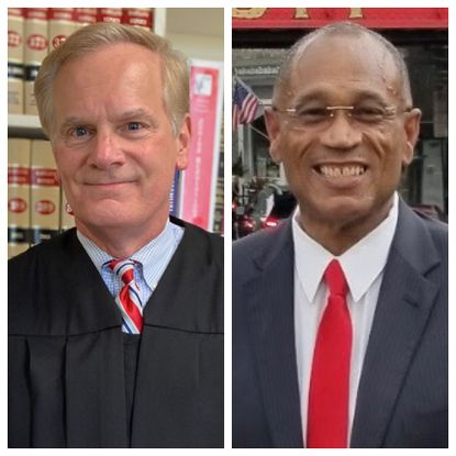 Incumbent John J. Kuchno, left, and Quincy L. Coleman are running for Howard County Circuit Court judge in the Nov. 3 election.