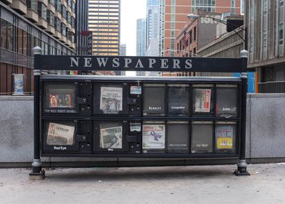 Newspapers are struggling financially because of advertising declines since the coronavirus pandemic.