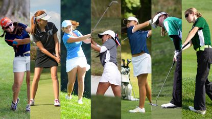 The top Howard County girls golfers from the 2014 season.