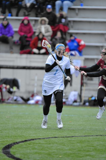 Women's Lacrosse: 'Tough as nails' Cannon has put ACL tears behind her