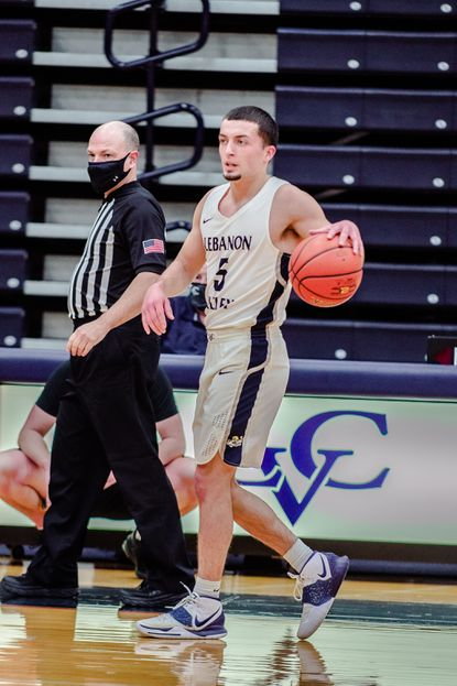 Lebanon Valley men's basketball senior Zach Tucker, a Century High School graduate, helped the Dutchmen play in the conference championship game this season.