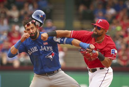 Rougned Odor showed Jose Bautista what 'in your face' really means