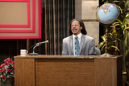 Eric Andre turns talk-show tropes into hilarious agony.