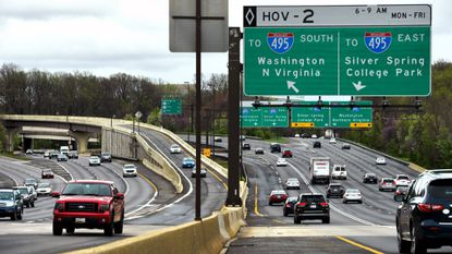 Gov. Larry Hogan is pushing an ambitious and expensive highway project to relieve traffic in the Washington suburbs by enlisting a private company to build and manage new toll lanes on the Capital Beltway and Interstate 270.