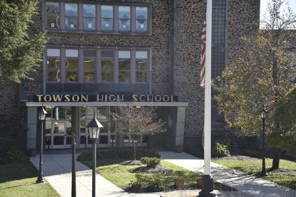 The Board of Education has so far not responded to Councilman David Marks' request the short-term relief be adopted for Towson High School.