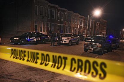 On the first day of 2017, about 3:15 pm, Baltimore City police officers found a man with a gunshot wound to his upper body dead at the 1800 block of W. Fayette Street.