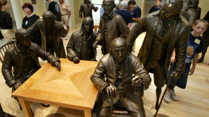 The National Constitution Center in Philadelphia is the first museum dedicated to honoring the U.S. Constitution, which some Maryland lawmakers would like to change.