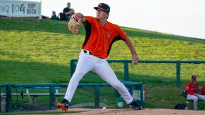 Left-hander Alex Wells, 21, was a Carolina League All-Star for the High-A Frederick Keys this season.